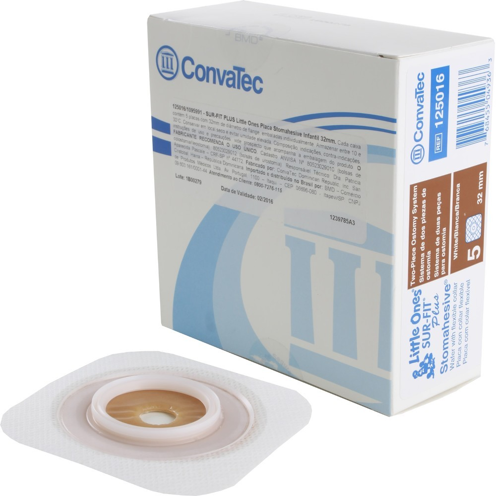 Placa Colostomia Flexible Convatec